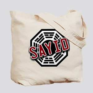 Sayid Dharma Logo from LOST Tote Bag