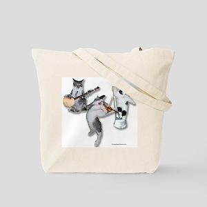 Bluegrass Kitties Tote Bag