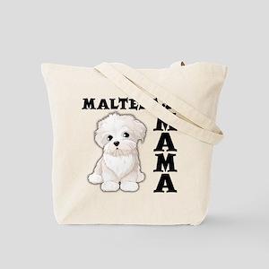 MALTESE MAMA (both sides) Tote Bag