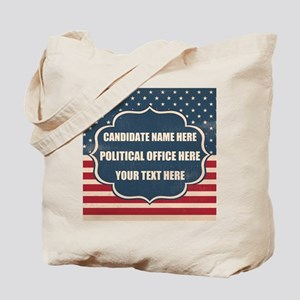 Personalized USA President Tote Bag