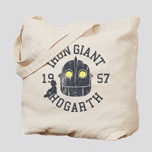 Iron Giant Hogarth 1957 Vintage Tote Bag