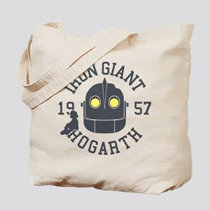 Iron Giant Hogarth 1957 Retro Tote Bag