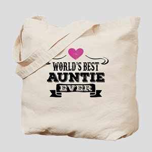 World's Best Auntie Ever Tote Bag