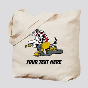 Fire Dog (Custom) Tote Bag