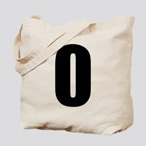 Number 0 Tote Bag