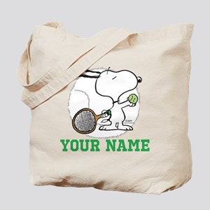 Snoopy Tennis - Personalized Tote Bag