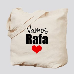 Vamos Rafa Love Tote Bag