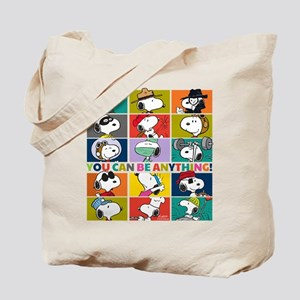 Snoopy-You Can Be Anything Tote Bag