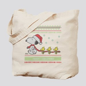 Snoopy Ugly Christmas Tote Bag