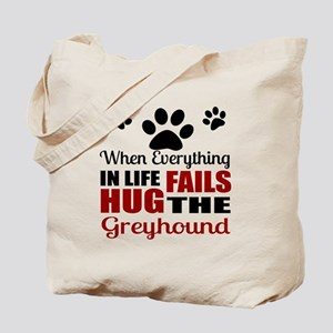 Hug The Greyhound Tote Bag