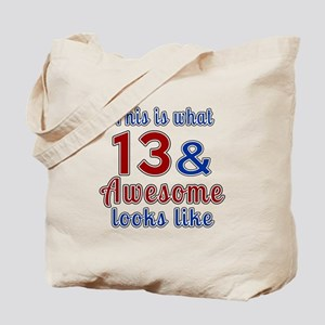 13 Awesome Birthday Designs Tote Bag