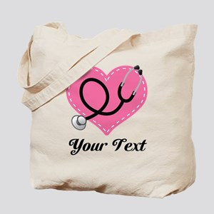 Personalized Nurse Doctor Gift Tote Bag