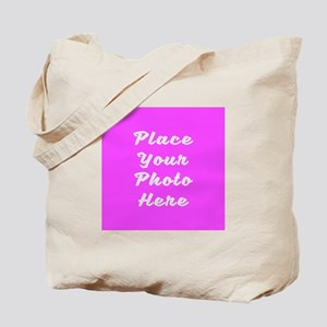Photo template customized Tote Bag