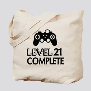 Level 21 Complete Birthday Designs Tote Bag