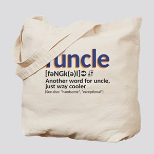 Funcle definition Tote Bag