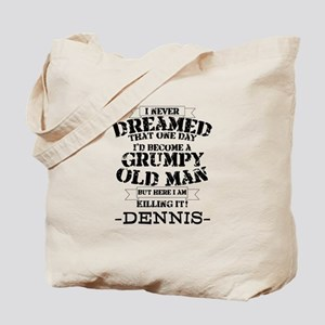 grumpy old man personalized Tote Bag