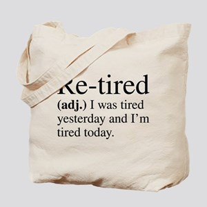 Re-tired Definition Tote Bag