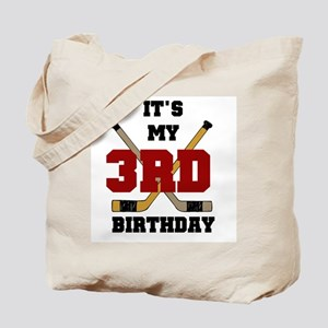 Hockey 3rd Birthday Tote Bag