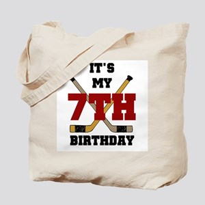 Hockey Birthday Tote Bag