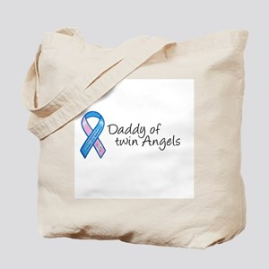 Daddy of Twin Angels Tote Bag