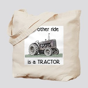 Ride a Tractor Tote Bag