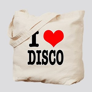 I Heart (Love) Disco Tote Bag