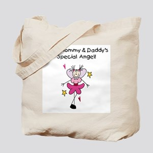 Mommy and Daddy's Angel Tote Bag