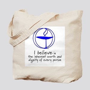Inherent worth and dignity Tote Bag