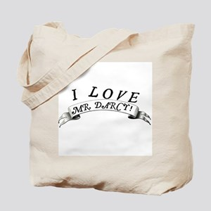 """I Love Mr. Darcy!"" Tote Bag"