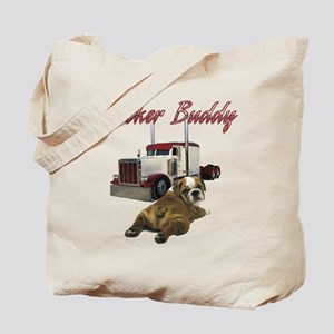 Trucker Buddy Tote Bag