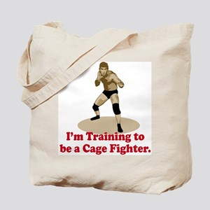 Cage Fighter Tote Bag