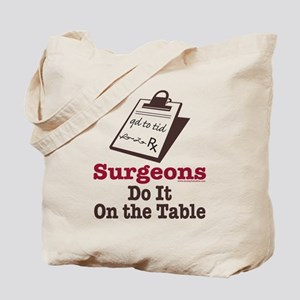 Funny Doctor Surgeon Tote Bag