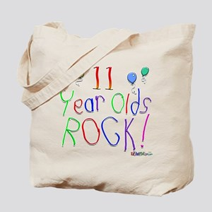 11 Year Olds Rock ! Tote Bag