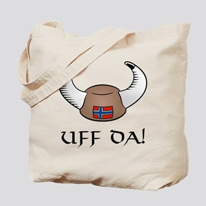 Uff Da! Viking Hat Tote Bag
