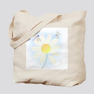 Lazy Summer Dragonflies Tote Bag