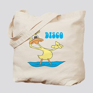 Disco Duck Tote Bag
