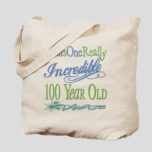 Incredible 100th Tote Bag