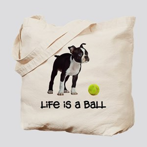 Boston Terrier Life Tote Bag