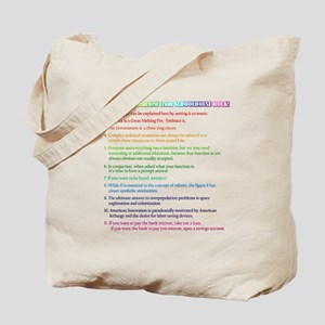 Eleven Things I Learned... Tote Bag