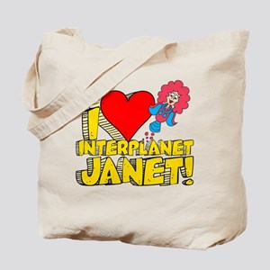 I Heart Interplanet Janet! Tote Bag