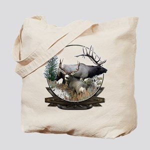 Big game elk and deer Tote Bag