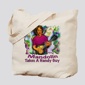 Mandolin Takes A Handy Guy Tote Bag