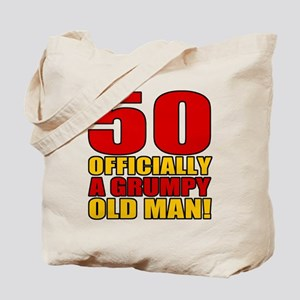 Grumpy 50th Birthday Tote Bag