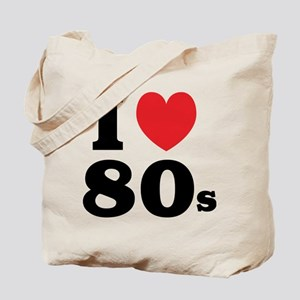 I Heart 80s Tote Bag