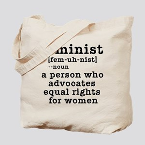 Feminist Definition Tote Bag