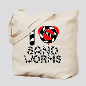 I Hate Sandworms Tote Bag