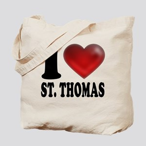 I Heart St. Thomas Tote Bag