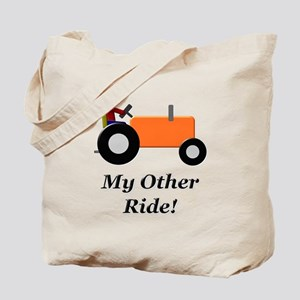 My Other Ride Orange Tote Bag