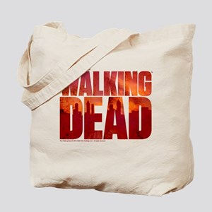 The Walking Dead Blood Logo Tote Bag