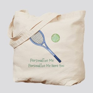 Personalized Tennis Tote Bag